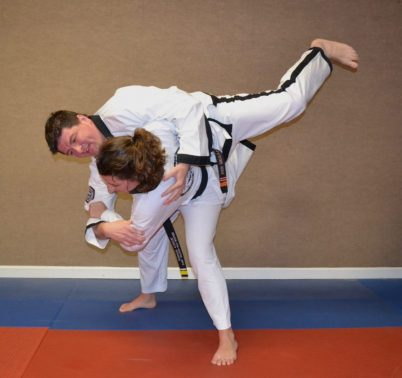 Martial Arts Technique being demonstrated