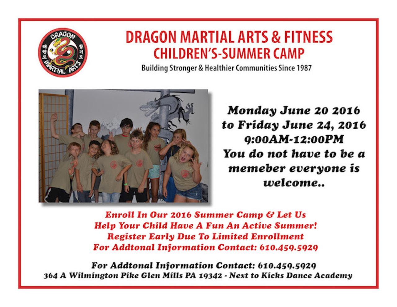 Martial Arts PA Summer Camp 2016