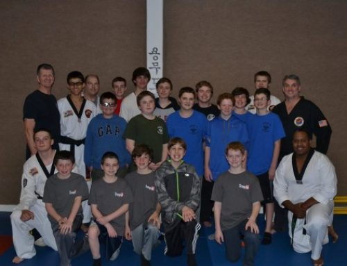 4/2016 Boy Scout Troop #66 Special Self Defense/Self Awareness Seminar