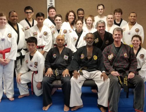 2018 Hapkido Seminar with Grand Master Shelton Moreland