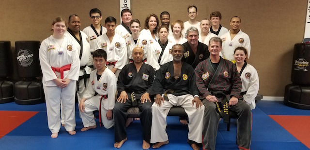 Hapkido Seminar 2018 Group Photo