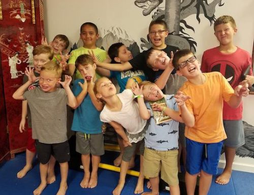 2018 Dragon Martial Arts Yong Moo Do Kwan Children's Summer Camp