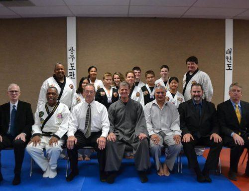 Congratulations Black Belts!