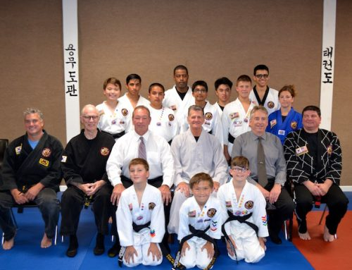 Congratulations to Dragon Martial Arts Yong Moo Do Kwan Black Belts